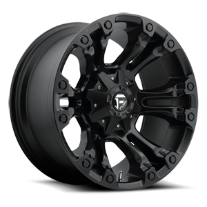 Fuel 1-Piece Wheels Vapor - D560 5 Matte Black