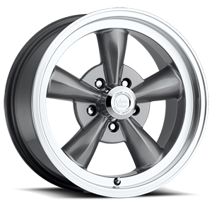 Vision Wheel 141 Legend 5 5 Gunmetal with Machine Lip