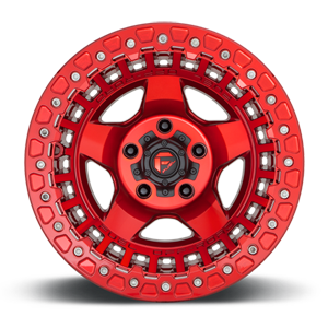 Warp Beadlock - D117 Candy Red 5 lug