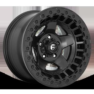 Warp Beadlock - D118 Matte Black 5 lug