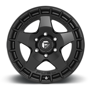Warp - D733 Satin Black 6 lug