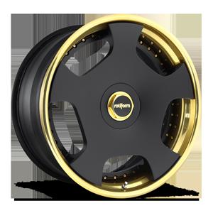 Rotiform WLD 5 Matte Black | Trans Gold