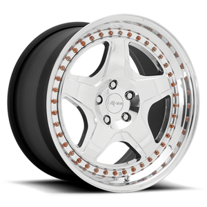 WRO-T Polished 5 lug