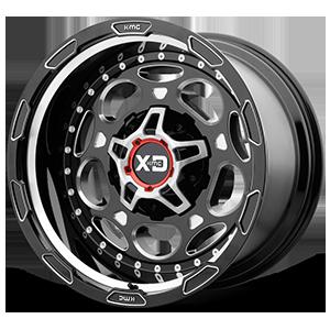 XD Series by KMC XD837 Demodog 5 Gloss Black Milled
