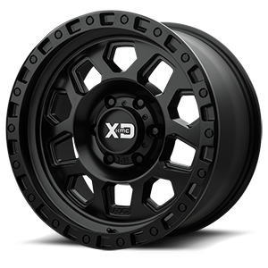 XD132 RG2 Satin Black 6 lug