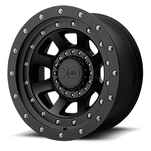 XD Series by KMC XD137 FMJ 6 Black