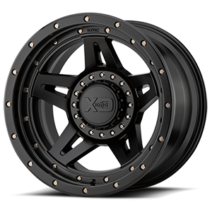 XD138 Brute Satin Black 5 lug
