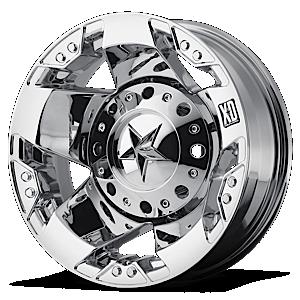 XD Series by KMC XD775 Rockstar Dually 8 Chrome