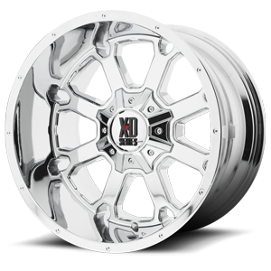XD Series by KMC XD825 Buck 25 8 Chrome