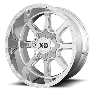 XD Series by KMC XD838 Mammoth 6 Chrome