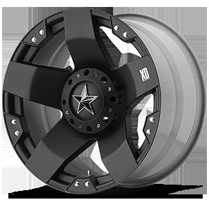 XD Series by KMC XD775 Rockstar 6 Matte Black