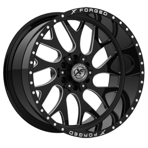 XF Off-Road XFX-301 6 Black Milled