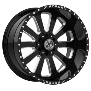XFX-302 Black Milled 6 lug