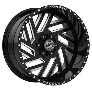XFX-304 Black Milled 6 lug