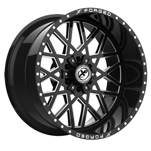 XFX-307 Black Milled 6 lug