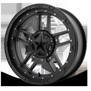 XD Series by KMC XS827 RS3 4 Matte Black - 20x7