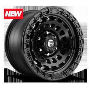 Fuel 1-Piece Wheels Zephyr - D633 6 17x9   Matte Black