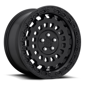Fuel 1-Piece Wheels Zephyr - D633 [Car] 5 Matte Black