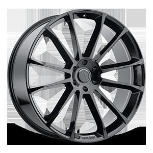 Status Wheels Goliath 6 Gloss Black