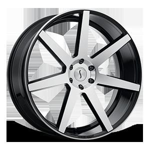 Status Wheels S838 Journey 6 Gloss Black Machined Face