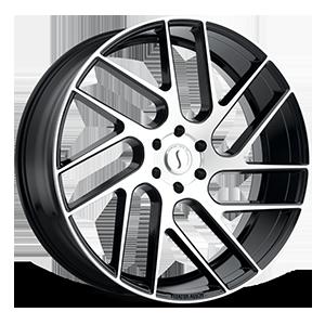 Status Wheels Juggernaut 6 Gloss Black w/ Machined Face