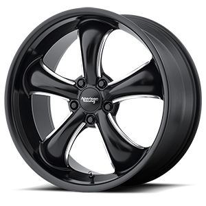 American Racing Custom Wheels AR912 TT60 5 Satin Black Milled