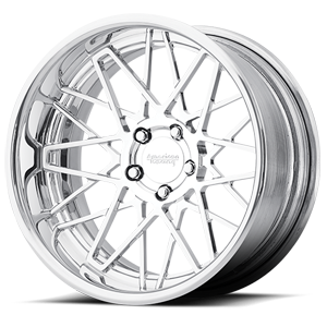 American Racing Custom Wheels VF502 Cross Up 5 Polished