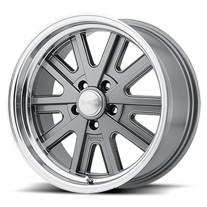 American Racing Custom Wheels VN527 427 Mono Cast 5 Mag Gray Machined Lip