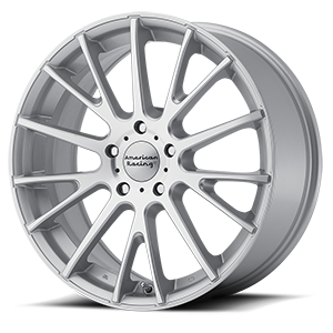 American Racing AR904 Silver w/ Machined Face 5 lug