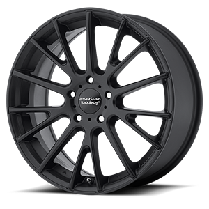 American Racing AR904 Satin Black 5 lug