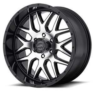 American Racing Custom Wheels AR910 6 Gloss Black w/ Machined Face