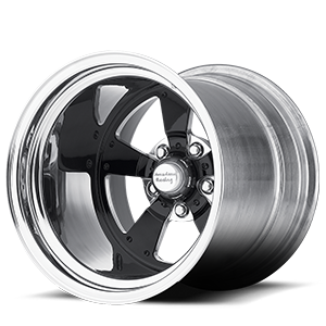 American Racing Custom Wheels VF479 5 Shown with Custom Gloss Black and Polished center with Polished barrel