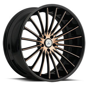 Asanti Forged Wheels C/X Series CX820 5 Custom-Copper