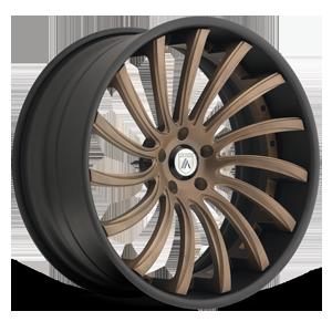 Asanti Forged Wheels C/X Series CX816 5 Bronze/Black