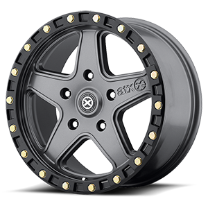ATX Series AX194 Ravine 5 Matte Gray w/ Black Ring