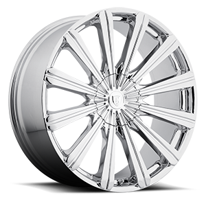 Borghini Wheels BW 18 5 Chrome
