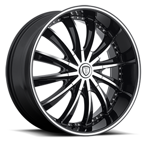Borghini Wheels BW 19 5 Black Machined