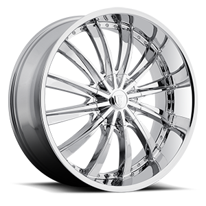 Borghini Wheels BW 19 5 Chrome