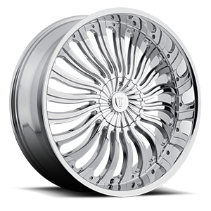 Borghini Wheels BW 24 5 Chrome
