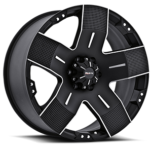 Ballistic Off Road 901 Hyjak 6 Flat Black