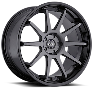 Concept One Wheels 769 5 Matte Black with Gloss Black Lip