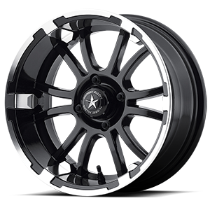 Fairway Alloys Sixer 4 Machined Matte Black