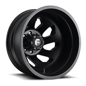 Fuel Dually Wheels FF39D - 8 Lug 8 Matte Black