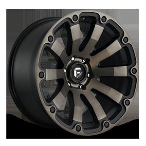 Fuel 1-Piece Wheels Diesel - D636 5 Black & Machined with Dark Tint