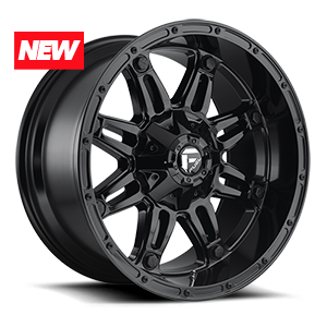 Fuel 1-Piece Wheels Hostage - D625 6 Gloss Black