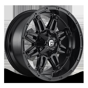 Fuel 1-Piece Wheels Hostage - D625 6 Gloss Black