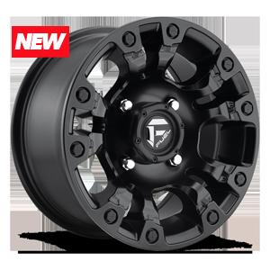 Fuel 1-Piece Wheels Vapor - D560 UTV 4 Satin