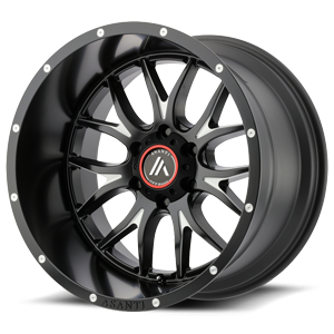 AB807 Carbine Satin Black Milled 6 lug