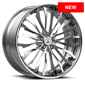 CX877 Brushed Chrome 5 lug