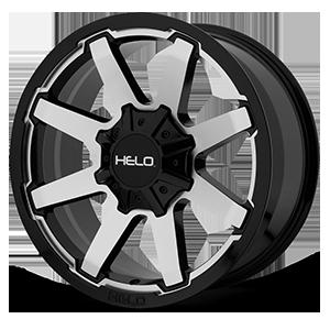 Helo Wheels HE909 6 Gloss Black Machined